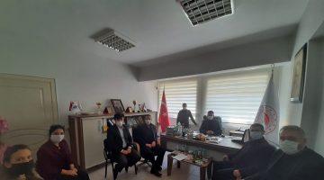 AK Parti İlçe Yönetiminden Gökhan Kıyım'a ziyaret