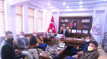 MHP Keşan İlçe Yönetimi'nden İlhan Saz'a ziyaret