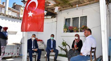 Malkara'da Şehit Ailelerine Bayram Ziyareti