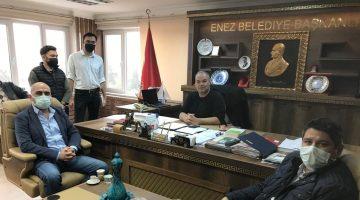Dardanel yetkilileri Günenç'i ziyarette müjdeyi verdi…