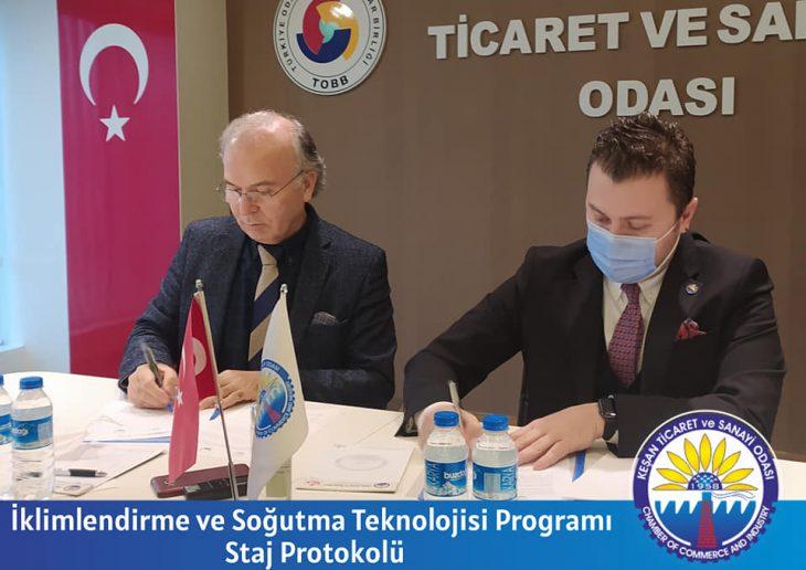KTSO ile T.Ü. arasında Protokol imzalandı