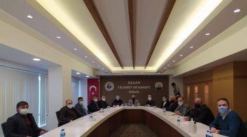MHP Keşan İlçe Yönetiminden KTSO ve KTB'na ziyaret