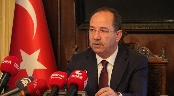 """Recep Gürkan, """"Selimiye Meydanı Düzenlemesi için Cumhurbaşkanının isteklerine olmaz diyemezdim"""""""