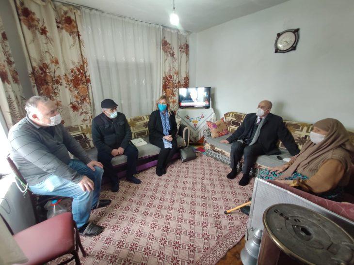 Cemalettin Yılmaz ve Nergis Mustafapaşa köy ziyaretlerini sürdürüyor
