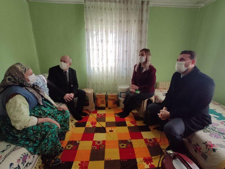 Cemalettin Yılmaz, Muhammet Örnek ve Nergis Mustafapaşa'dan Beyendik ziyareti