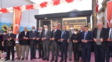 İspat Cami Mahalle Muhtarlığı mahalledeki yeni binasına kavuştu
