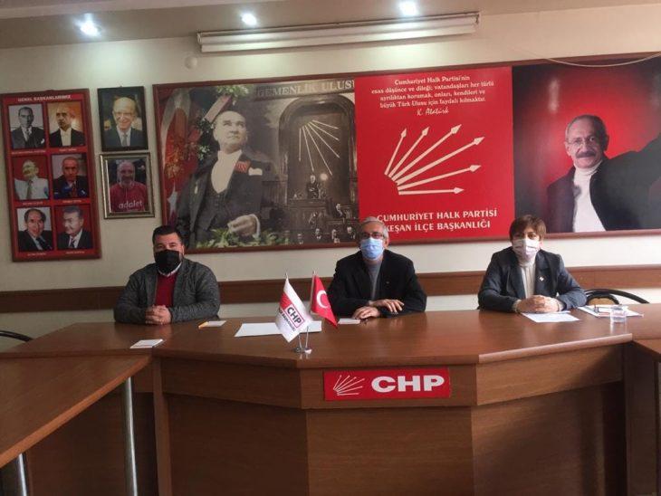 """CHP'lilerden Helvacıoğlu'na """"Keşke Sazlıdere için de aynı duyarlılığı gösterebilseydin"""""""