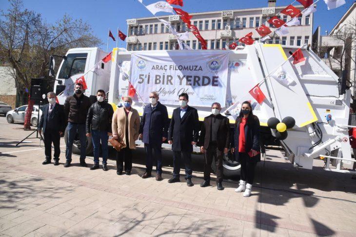 Keşan Belediyesi 5 aracı 1,3 milyon TL tasarruf ile bünyesine kattı