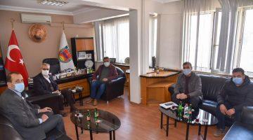 Helvacıoğlu'ndan Şoförler ve Otomobilciler Odası'na ziyaret