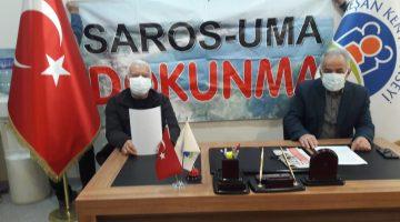 SAROS  KÖRFEZİNE  ADALET  İSTİYORUZ!