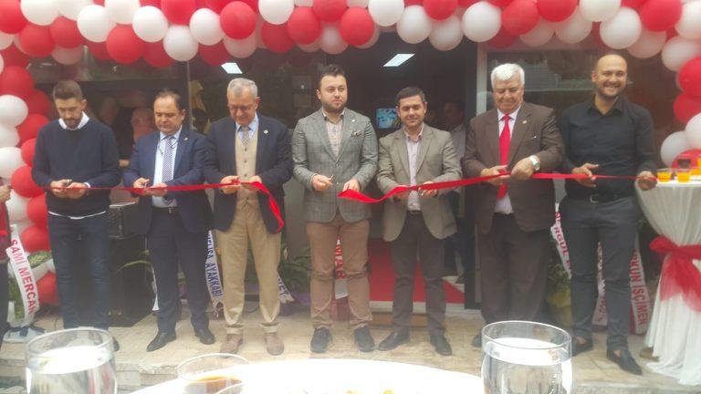 """""""Ye&Doy Döner Fastfood"""" düzenlenen törenle açıldı"""