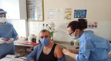 Malkara Belediye Başkanı Ulaş Yurdakul CoronaVac aşısını yaptırdı