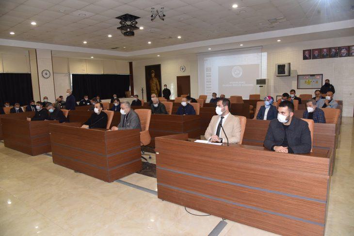 Keşan Belediye Meclisi 2021'in ilk meclis toplantısını gerçekleştirdi