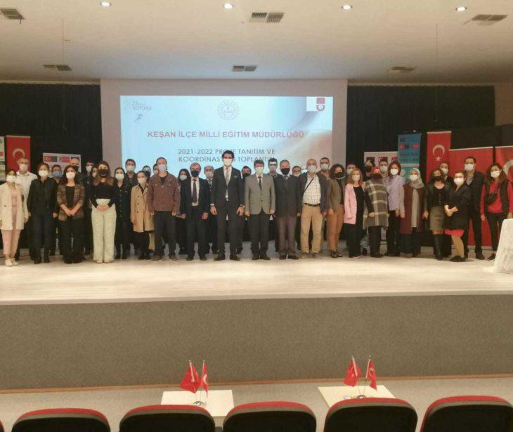 Keşan'da Milli Eğitimin Proje Tanıtım ve Koordinasyon Toplantısı yapıldı