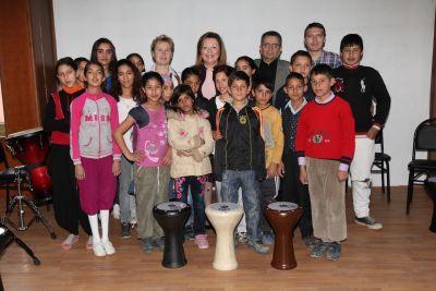 """Eskişehir'de """" Ritmik Sevgi"""" Projesine vekil ziyareti…"""