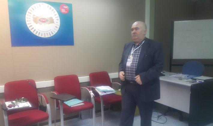 70 Yaşındaki RTÜK Kursiyeri Cavit Deniz Takdir Topluyor