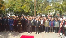 Keşan'da 29 Ekim Cumhuriyet Bayramı Çelenk Töreni Gerçekleştirildi.