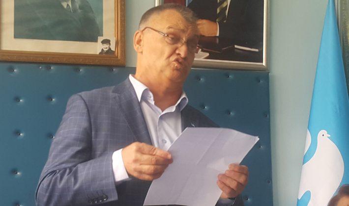 DSP Keşan İlçe Teşkilatı Bülent Ecevit'i andı.