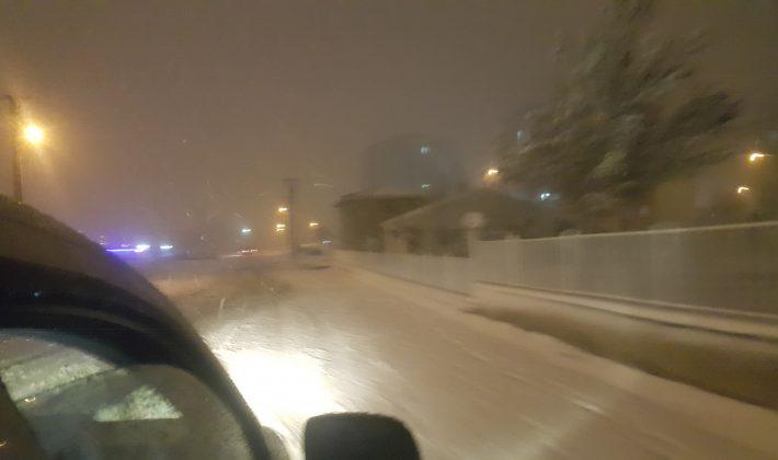 Keşan'da Yoğun Kar Yağışı