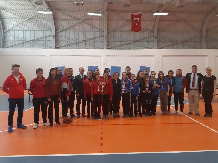 Yıldız Kız Masa Tenisi İl Şampiyonası Sona Erdi