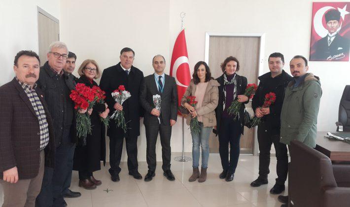 CHP Belediye Başkan Adayı Şenol Yalı'dan 14 Mart Tıp Bayramı Ziyaretleri…