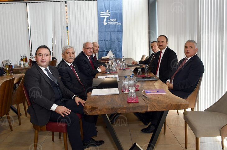 Trakya Kalkınma Ajansı yönetimi Edirne'de toplandı
