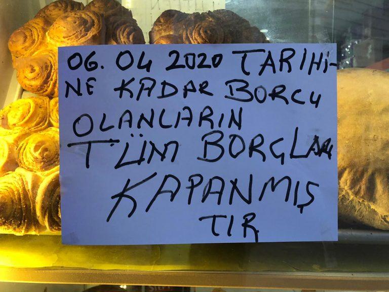 Bursa'da bir hayırsever ihtiyaç sahiplerinin market borcunu ödedi