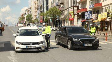 Çerkezköy'de sokağa çıkma kısıtlamasına uymayan 58 kişiye 47 bin 558 lira ceza