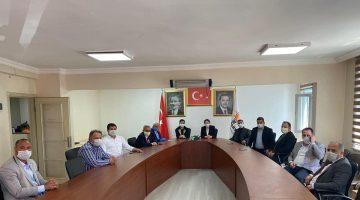 AK Parti Edirne İl Başkanı İba ilçe teşkilatlarını ziyaret etti