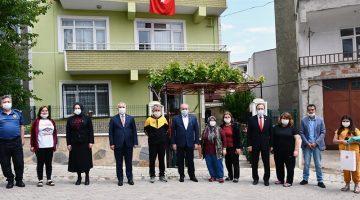 TBMM Başkanı Şentop Tekirdağ'da şehit ailelerini ziyaret etti