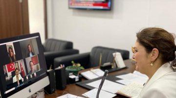 AK Parti Edirne İl Başkanı İba, video konferans yöntemiyle teşkilatla bayramlaştı