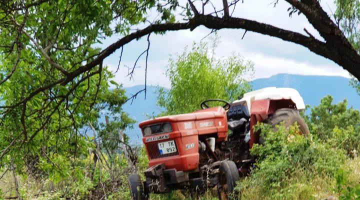Çanakkale'de dedesinin kullandığı traktörden düşen çocuk hayatını kaybetti