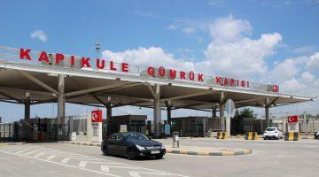 Edirne'deki sınır kapılarında günde ortalama 50 kişiye Kovid-19 testi yapılıyor