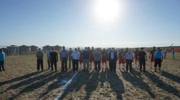 Meriç İlçe Stadı dostluk maçıyla açıldı