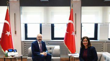 AK Parti MilletvekiliFatmaAksal, Bakan Adil Karaismailoğlu'nu ziyaret etti