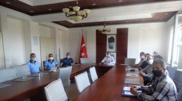 """Şarköy'de """"Denizlerde Can ve Mal Güvenliği"""" toplantısı"""