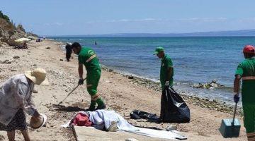 Saros Körfezi sahilleri düzenli olarak temizleniyor