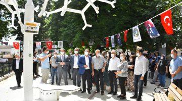"""Malkara'da """"15 Temmuz Demokrasi Kültür ve Sanat Parkı"""" açıldı"""