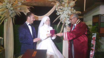 Emre Fidan, Kübra Eker ile yaşamını birleştirdi