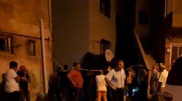 Beşinci kattan düşen kadın öldü