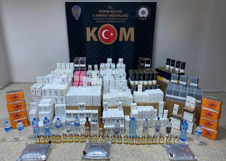 Edirne'de 3'ü Bulgar 4 şüpheli kaçakçılık iddiasıyla gözaltına alındı