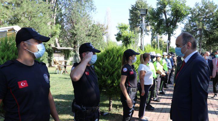 Edirne'de bayramlaşma programı gerçekleştirildi