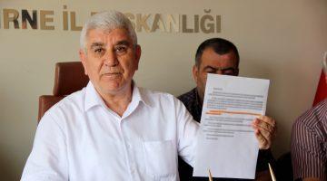 """MHPEdirneİl Başkanı Tercan: """"Kovid-19'la savaşan kahramanları, bir kanunla ödüllendirin"""""""