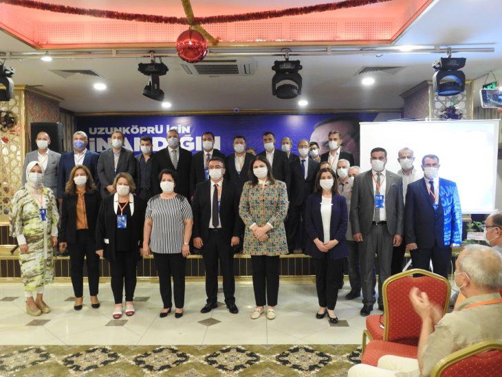 AK Parti Uzunköprü İlçe Başkanlığı Olağan Kongresi yapıldı