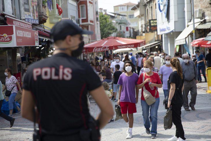 Edirne'de maske takmayanlara para cezası uygulandı