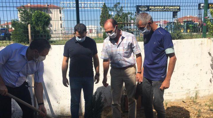 TÜ'nün ilçe kampüslerinde çevre bakımı çalışmaları