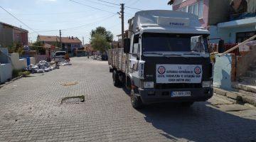 Hayrabolu SYDV'den ihtiyaç sahibi ailelere kömür yardımı