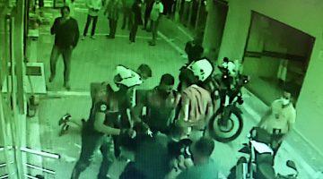 Edirne'de maske denetimi sırasında polise mukavemet eden iki kişi gözaltına alındı