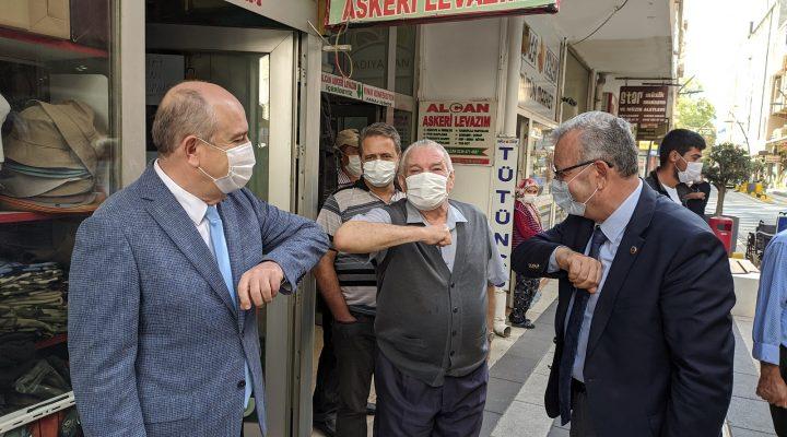 """Cemalettin Yılmaz, """"Bahçeköy'de Kovid 19'a karşı gerekli tedbirler alındı"""""""