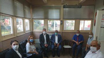 AK Parti İl Başkanı İba'dan Şehit Aileleri Derneği'ne ziyaret